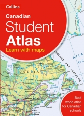 Collins Canadian Student Atlas Paperback REV by Collins Maps