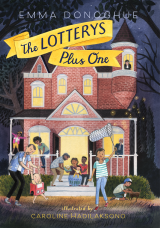 The Lotterys Plus One Hardcover  by Emma Donoghue