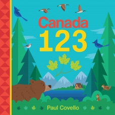 Canada 123 Board book  by Paul Covello